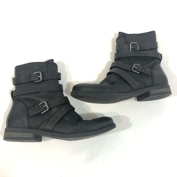 598cf3ad667 Roxy Black Ankle Moto Boots